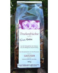 Trockenfrüchte Birnen-Quitte, 100g in feinen Scheiben