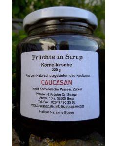 Früchte in Sirup Kornelkirsche wild, 320g
