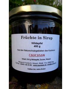 Früchte in Sirup Wildapfel, 400g