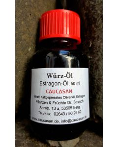 Würzöl Estragonöl, 50ml