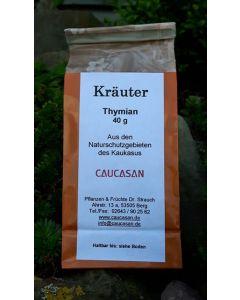 Getrocknete Kräuter Bergthymian, gerebelt, 40g