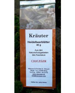 Kräutertee Heidelbeerblätter, 40g