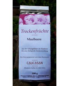 Trockenfrüchte Maulbeere weiß, 100g