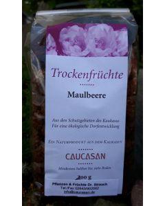 Trockenfrüchte Maulbeere weiß, 200g