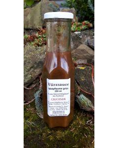 Herzhafte Fruchtsauce Wildpflaume grün (Tkemali), 250ml