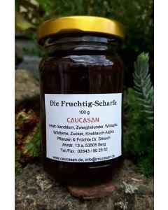 Herzhafte Fruchtsauce  Die Fruchtig - Scharfe, 100g